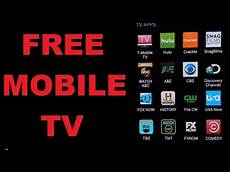 tv free free mobile apps to free cable mobile tv and