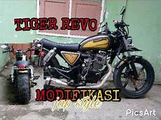 Tiger Modif Japstyle by Perjalanan Honda Tiger Revo Modif Japstyle Bobber