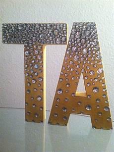 Delta Zeta Initials And Rhinestones On