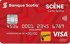 carte debit credit carte scotia munie de visa d 233 bit