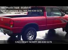 1997 mazda b4000 1997 mazda truck b4000 4x4 ext cab for sale in longview