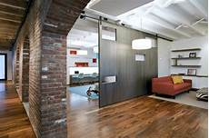 apartment with a retractable interior retractable walls for living