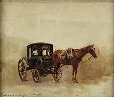 cavallo con carrozza carrozza con cavallo painting by motionage designs