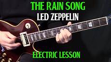 how to play electric guitar songs how to play quot the song quot on guitar by led zeppelin part 2 electric guitar lesson