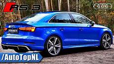 2018 audi rs3 sedan exhaust sound loud by autotopnl