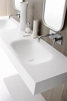 lavabo in corian moode washbasin countertop by rexadesign corian
