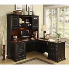 riverside bridgeport l shaped computer desk with optional