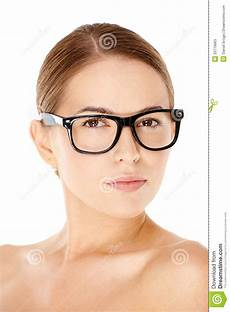 Frau Mit Brille - beautiful wearing glasses stock image image of