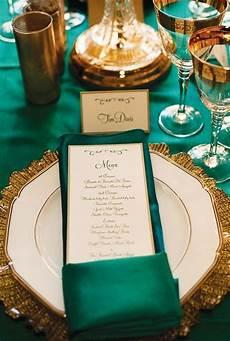 40 emerald and gold wedding ideas wedding reception