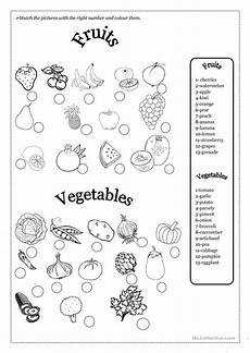 fruits and vegetables teaching vocabulary fruits