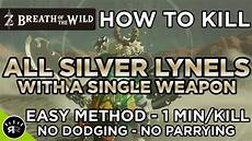 breath of the kill all silver lynels with a