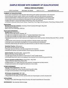 resume skills summary exles exle of skills summary