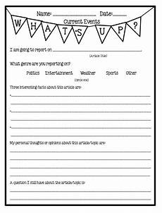 pinkadots elementary freebie current events informational text note taking and speaking