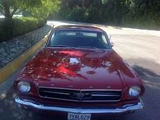 64 1/2 Rare F Code With 260 V8 Engine Very Early Mustang