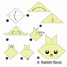 comment faire un origami step by step how to make origami a rabbit