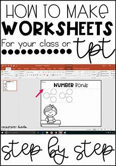 how to make worksheets for your classroom or teacherpayteachers teaching resource classroom