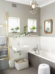 Badezimmer Verschönern Dekoration - graues badezimmer versch 246 nern