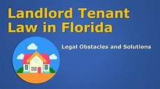 Tenant Eviction Rights In Florida by Landlord Tenant In Florida