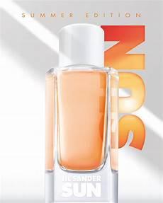 sun summer edition jil sander perfume a new fragrance