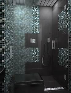 Mosaik Fliesen Muster Ideen - badezimmer mosaik grau badezimmer