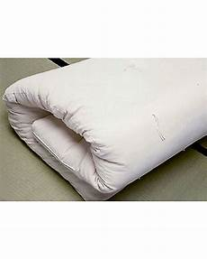 materassi futon woodly materasso futon 140x180 cm 100 puro cotone
