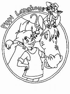 pippi longstocking free coloring pages