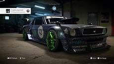 ford mustang ken block need for speed 2015 ford mustang 1965 ken block ps4