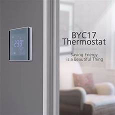 Touch Screen Wall Floor Thermostat 250v by Lcd Touch Screen Wall Floor Thermostat 85 250v 16a Weekly