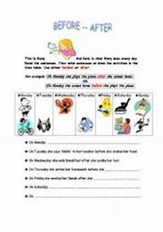 adverbs of time worksheets