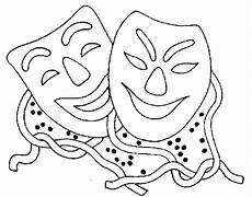 Fasching Ausmalbilder Zum Ausdrucken Gratis Malvorlagen Fasching Maske Coloring And Malvorlagan