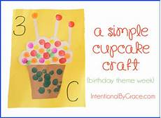 preschool birthday theme worksheets 20265 a simple cupcake craft birthday themed preschool craft intentional by grace