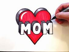 Pictures Cool Drawings For Mom  Art Gallery