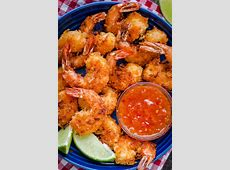 coconut shrimp with dipping sauce_image