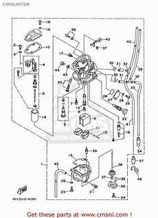 yamaha ttr250 ttr250c 2003 3 usa california carburetor schematic partsfiche