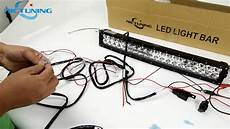 On Led Light Wiring by Wiring Harness Connect To The Light Bar Led Light Bar