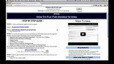 free iowa divorce papers and forms youtube
