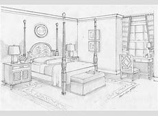 Bed Simple Drawing For Kids   Roole