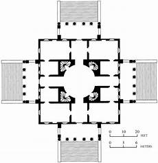 palladian house plans black white plans 341 andrea palladio plan of the