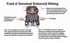 starter relay wiring questions ford truck enthusiasts