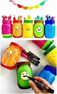 130 easy craft ideas using jars for spring summer