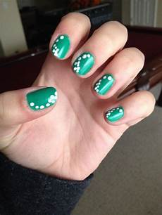 easy nail design on tumblr