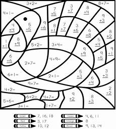 2nd grade math worksheet color by number 2nd grade math color by number coloring pages math