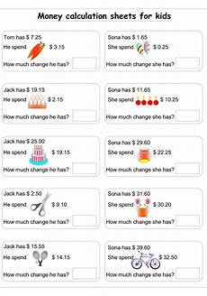money worksheets change from 5 2100 money calculation worksheet 5