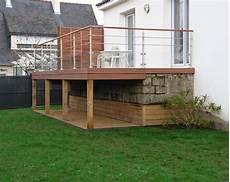 prix terrasse sur pilotis et d 233 claration