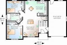 split foyer house plans house plan 034 00355 split foyer plan 901 square feet