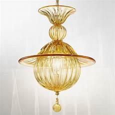 lustre ambre en verre souffl 233 v 233 nitien 1005 artital