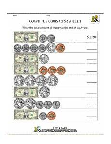 money counting worksheets free printable 2722 2nd grade money worksheets up to 2 money math worksheets money math money worksheets