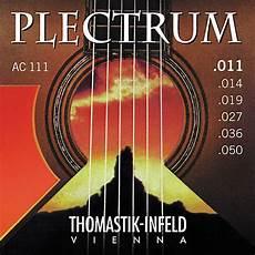 soft acoustic guitar strings thomastik ac111 plectrum bronze acoustic guitar strings light musician s friend