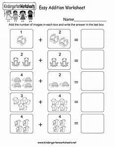 addition worksheet for kindergarten printable 9276 easy addition worksheet free kindergarten math worksheet for