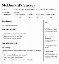13 restaurant survey templates word pdf free premium templates